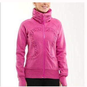 Lululemon Pink Sparkle Cuddle Up Jacket